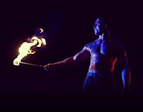 Fire Performance feat. Chris Flores