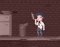 "Pixel Art Game ""Duality"" (2015)"