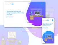 Design Monthly Site (Lesson by Caler Edwards)