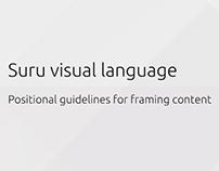 Ubuntu Suru visual language