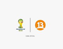 GANÉMOSLE A TODO / Mundial Brasil 2014 - Canal 13