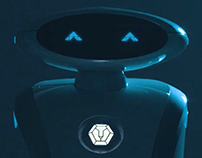 Animated eyes for Leobot Scrub
