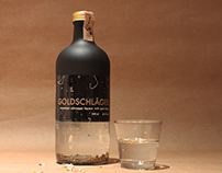 Goldschlager Packaging Design