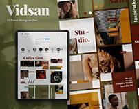 Vidsan Puzzle Brand Social Media Template