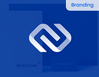 IronChain Brand Identity and Marketing Website