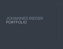 Portfolio 2017 Johannes Rieder
