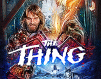 The Thing - Illustrated Poster