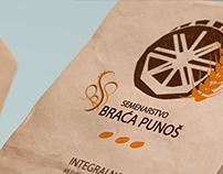 Semenarstvo BP - flour bags and logotype design