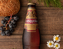 Cerveza Cusqueña.