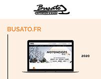 Site vitrine BUSATO