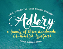 Adlery handmade font family free demo download