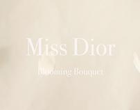 Vidéo de promotion. Parfum Miss Dior
