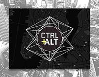 CTRL+ALT Branding & Layout Design