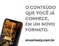 Arte Lançamento anuarioarq.com.br