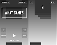 Game UI/Interaction Designs and Wireframes