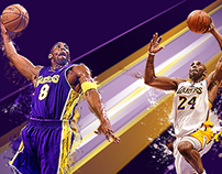 Kobe Bryant fan art