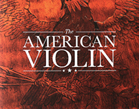 Book Design - The American Violin