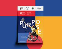 Indian Wheelchair Tennis Tour | Branding & Collaterals