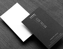 Cartão de Visitas | Igor Trojan