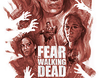 Fear The Walking Dead alternative poster