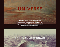God is Astronaut - My own Universe ( Cover CD )