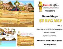 2D RPG MAP 4: DESERT