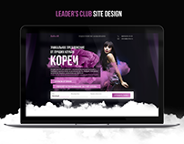 Leader's club website
