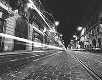 Photo Project : A Dark & Light Street