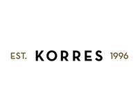 KORRES - Apresentação de embalagens