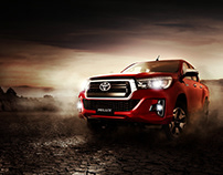 Advertising / New Toyota Hilux 2018