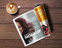 40+ Creative Magazine PSD Mockups & Templates