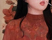 Self portrait: I-Paint-Myself