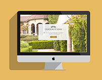 Chateau St. Jean Website Design