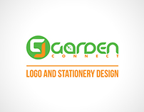Garden Connect Logo and Stationery Design