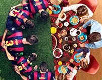 Beko & Barcelona partnership posters