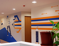 Young and Rubicam Budapest Office Decoration