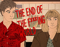 "Illustration of ""The End Of The Fxxxing World"""