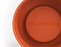 Boomerang cups
