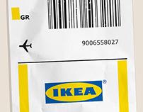 IKEA Airport Discount Banner