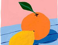 Sun Fruits - Commission Illustration