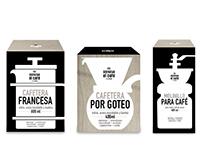 """Packaging línea """"Disfrutar el Café"""" Casaideas"""