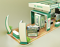 AL MAHA MEDICALS- EXHIBITION STAND DESIGN