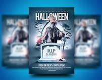 Halloween Party or Die Flyer