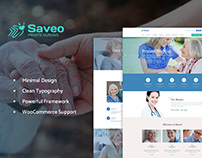 Saveo | In-home Care Agency WP Theme