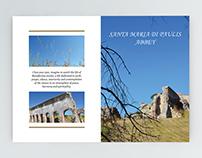Bi-fold brochure   Santa Maria di Paulis abbey