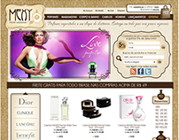 Mexy - cosmetics E-commerce
