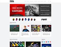 Diseño sitio web: Todo Cross