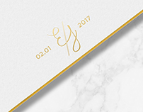Wedding Stationary - Erika & Jason