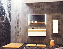 Bathroom_02. Visualization for catalog.