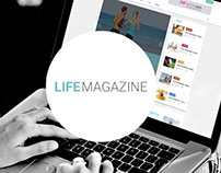 Life Magazine - Multipurpose template